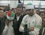 Départ des supporters Algériens vers l'Egypte