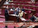 SEANCE,Suite du projet de loi de financement de la sécurité sociale
