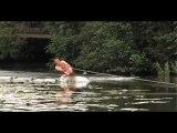 Du wake-board sur nénuphars...