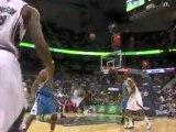 NBA Joe Johnson hits Josh Smith with the pretty alley oop ac