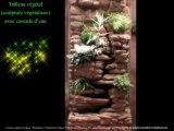 tableau végétal, mur végétal, sculpture et décor d'ambiance