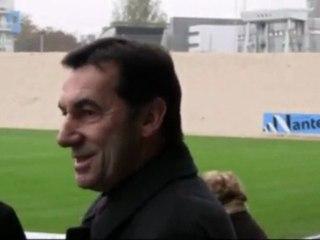 Le nouveau stade Marcel Saupin - 11 novembre 2009