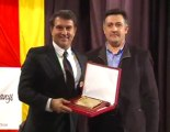 Laporta rep el Premi Lluís Companys d'ERC