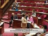 SEANCE,Examen du projet de loi de financement de la sécurité sociale