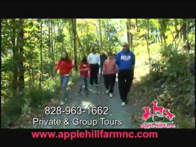 Apple Hill Farm Animal Tour in Banner Elk, NC