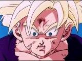 DBZ Gohan Turns Super Saiyan 2 For The First Time