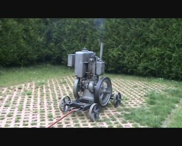 Moteur fixe Triumph / Triumph stationary engine