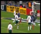 La main de Thierry Henry lors du Match France-Irlande