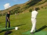golf aux Deux Alpes Eté 2008