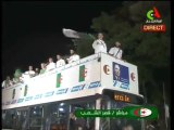 Les verts dans le bus à Alger