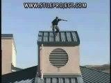 Roller chute toit