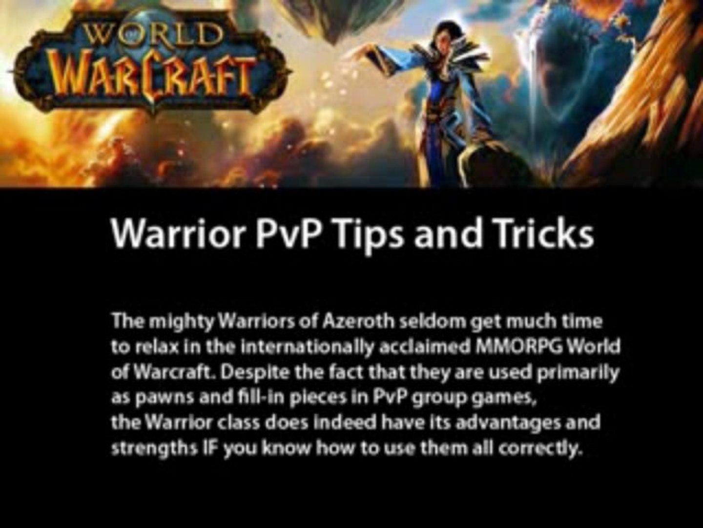 Warrior pvp talents