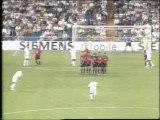 David Beckham .- Real Madrid-Osasuna