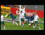 France Irlande Contrôle et But  18_11_09 Signé Henry