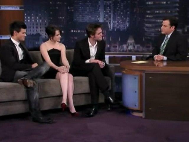 The Cast of New Moon on Jimmy Kimmel Live 5 (Nov 2009)