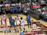 NBA Vince Carter drives through the Raptors defense and thro