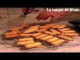 Gâteaux de Noël à la noix de coco (Recette de Monica)