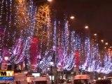 Les Champs-Elysées illuminés !