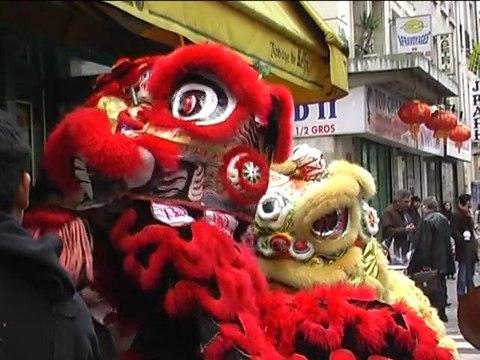 Nouvel an chinois dans le 10e