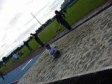 Athlétisme - Triathlon de Lunel - Saut en longueur