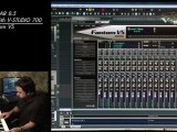 Record Bass Guitar Using the Fantom VS Synth & V-Studio 700