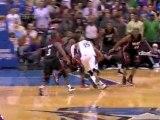 NBA Vince Carter getting blocks By Dwyane Wade