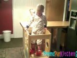 Astounding Guidecraft Kitchen Helper G97325 Step Stool Video Dailymotion Camellatalisay Diy Chair Ideas Camellatalisaycom