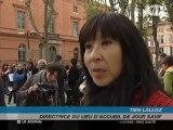 Violences conjugales : Mobilisation symbolique à Toulouse