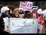 Jean Sarkozy à l'EPAD : rassemblement devant le CG du 92