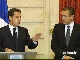 Sarkozy et les petites plaisanteries  sionistes