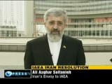 Iranian ambaasador in IAEA about resolution against Iran