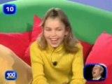 Une petite fille qui  aime pas trop les garçons à la télé