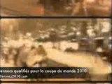 Algérie Egypte - Fennecs 2010 - Célébration Champs Elysées.