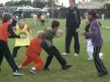 tournoi de rugby classe de CM2 école pierre et Marie Curie