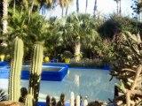 Marrakech :  Urbanisme et Couleurs. Places et jardins