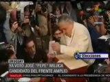 Ya  votó José Pepe Mujica Candidato Frente Amplio