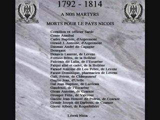 Pays de Nice 1792-1814 (Honneur aux Barbets)