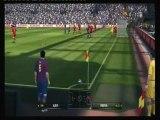 PES 2010. Vidéo test. Barcelone-Liverpool.