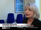 Régionales : Françoise Grossetete, tête de liste UMP (Rhône)