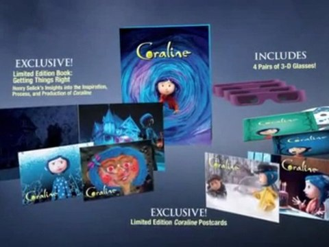 Coraline Limited Edition Gift Set Video Dailymotion