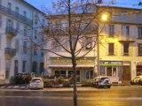 La Bourboule: Neige au petit matin