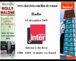 Renaud France Inter 02/12/09 Fou du roi Promo Molly Malone