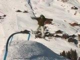 Les Crosets Ski resort Swiss Alps