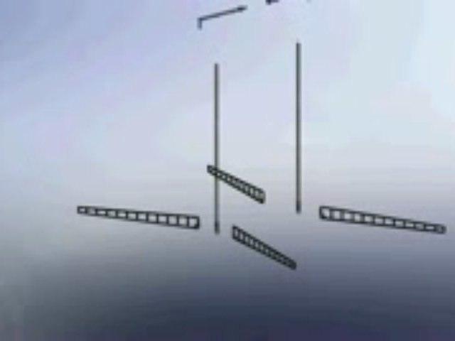 """Portique Autonome """"2 mâts"""" - FSMS05"""