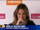 Tennis : Amélie Mauresmo met un terme à sa carrière