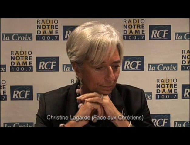 Christine Lagarde - Face aux Chrétiens partie 2 - 03/12/2009