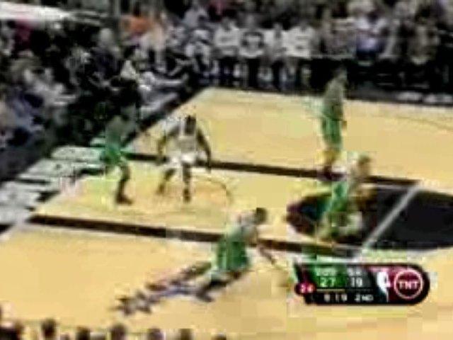 NBA Rookie DeJuan Blair scores 18 points and grabs 11 reboun