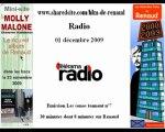 Renaud Telerama Radio 1/12/09 Les sonos tonnent Molly Malone