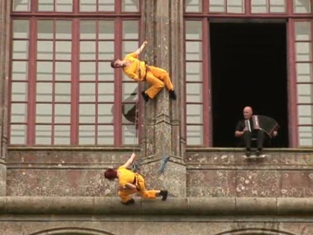 Concept danse et architecture 1, Château de Trévarez, 2007