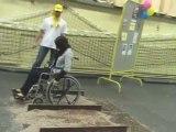 Téléthon 2009 Provins avec le Lions Club: l'Handicapathon